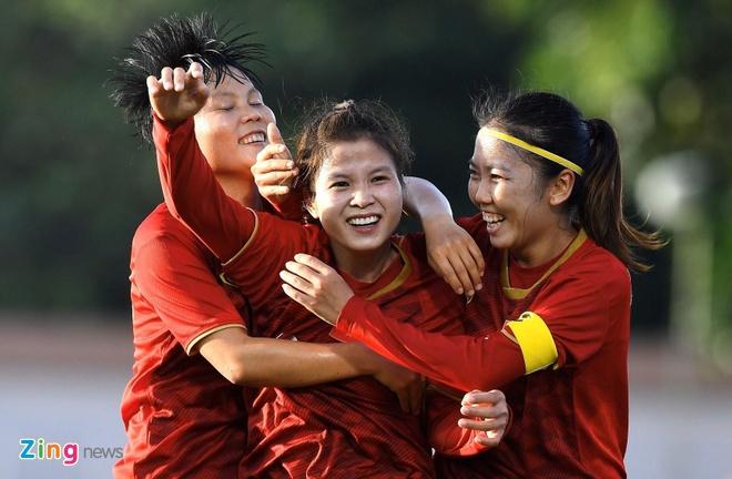 Nc247info tổng hợp: Tuyển nữ Việt Nam tiến gần tấm vé dự Olympic