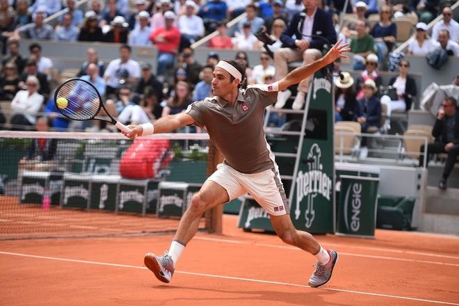 Federer sẽ tham dự Pháp mở rộng 2020. Ảnh: Reuters.