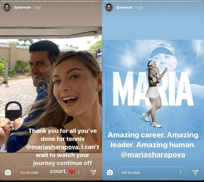 Djokovic: 'Sharapova co suy nghi cua nha vo dich' hinh anh 1 cddb5006d7be2fe076af.jpg