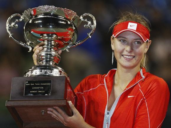 Maria Sharapova giai nghe anh 2