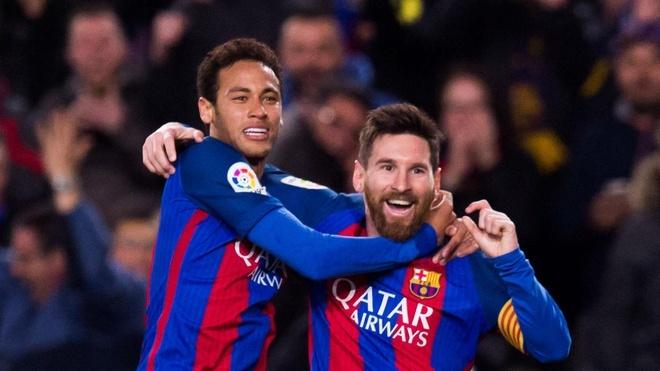 Cafu: 'Messi khong the sanh voi Neymar ve ky thuat' hinh anh 1 messineymar.jpg