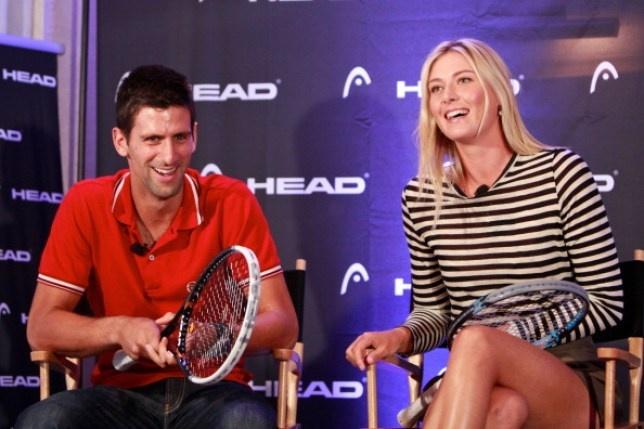 Sharapova ke ky niem ve Djokovic anh 1