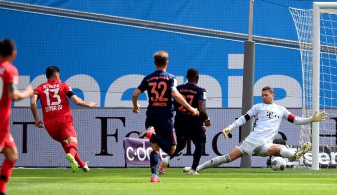 Truc tiep Leverkusen vs Munich anh 1