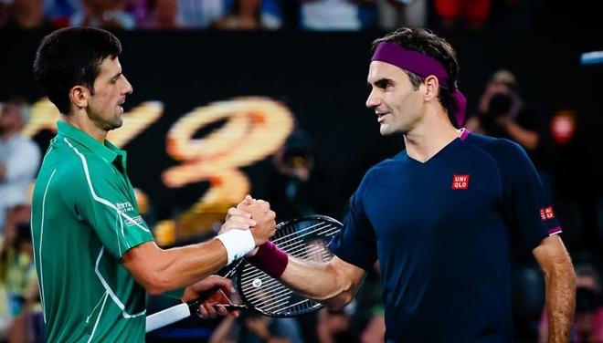 Federer so Djokovic vuot mat anh 1