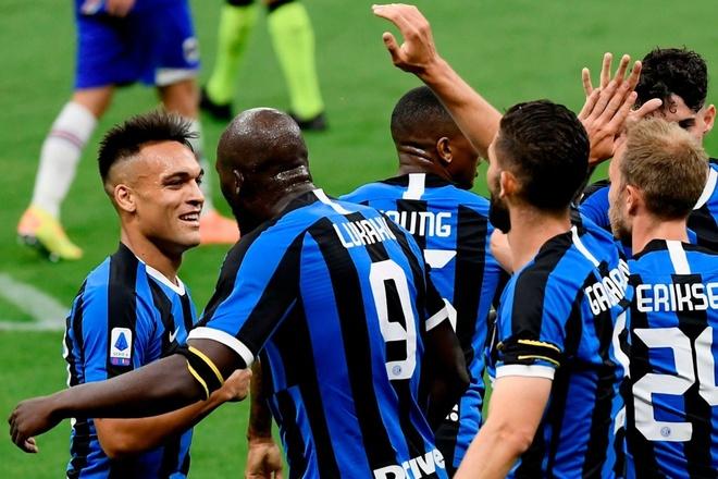 Inter Milan thang Sampdoria anh 1
