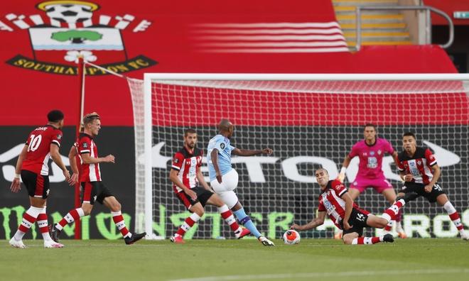 Southampton vs Man City anh 5