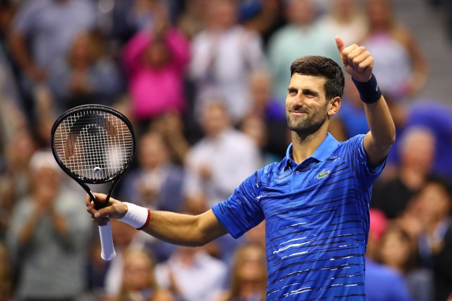 Djokovic du US Open anh 1