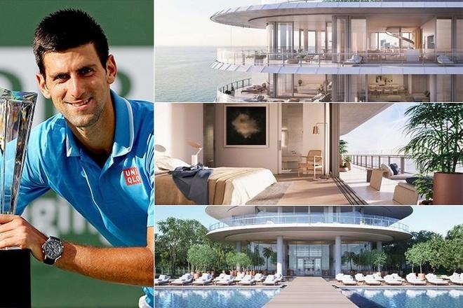 Djokovic song giau sang anh 1