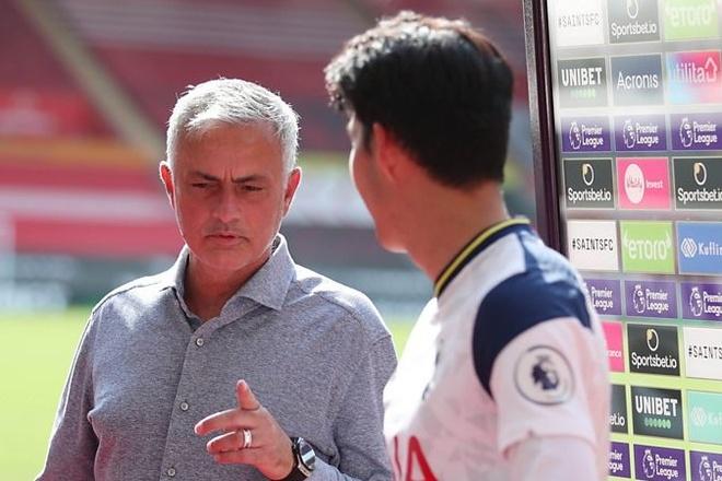 Mourinho choc Son Heung-min anh 1