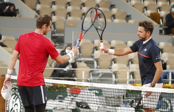 Wawrinka vs Murray anh 1
