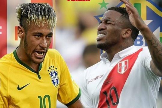 Truc tiep Peru vs Brazil anh 16