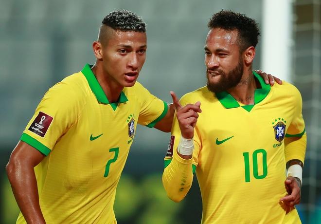 Truc tiep Peru vs Brazil anh 13