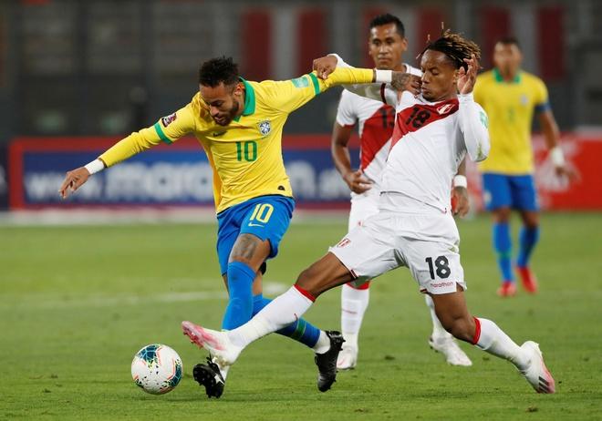 Truc tiep Peru vs Brazil anh 7