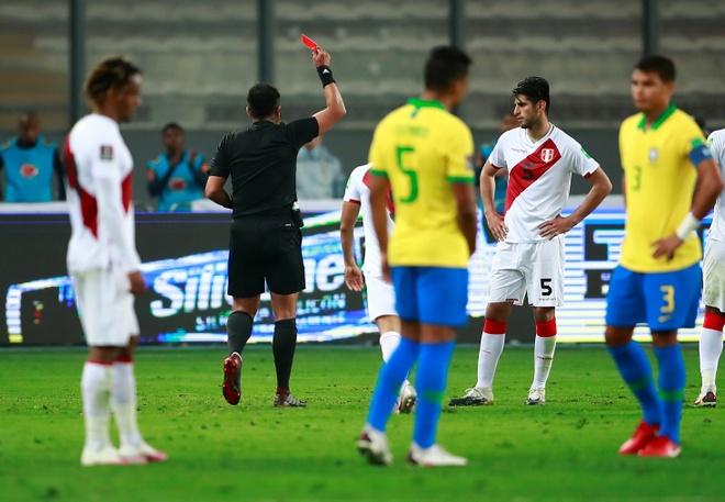 Truc tiep Peru vs Brazil anh 4