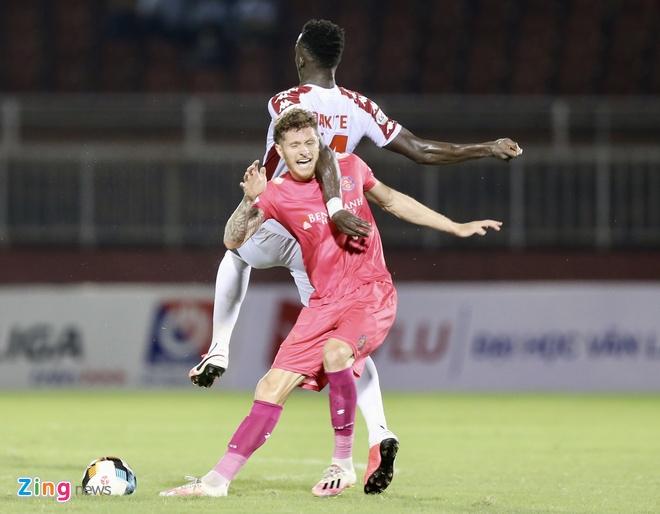 Nc247info tổng hợp: CLB Sài Gòn 0-0 CLB TP.HCM: Thủ môn Văn Phong chơi chắc chắn