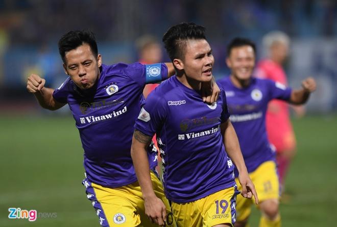 Truc tiep CLB Ha Noi vs CLB Sai Gon anh 23