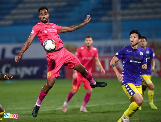 Truc tiep CLB Ha Noi vs CLB Sai Gon anh 15
