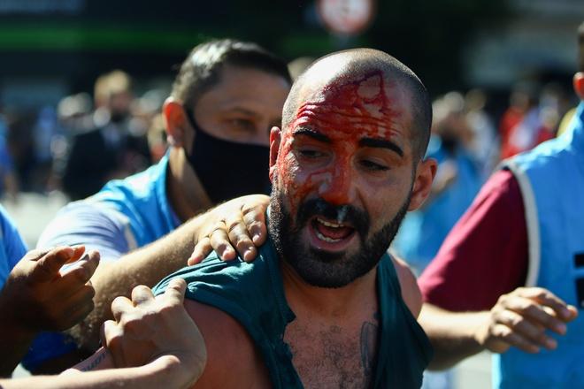 Maradona qua đời: Lễ viếng Maradona kết thúc sớm để tránh hỗn loạn - Hậu  trường