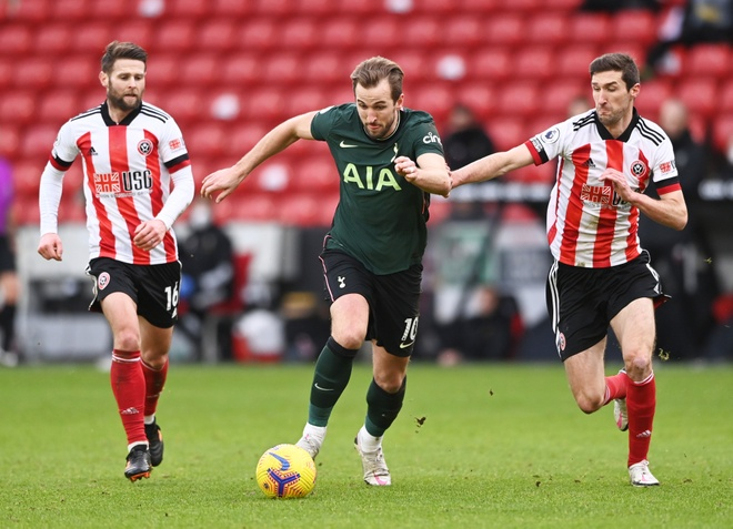 Sheffield Utd vs Tottenham anh 25