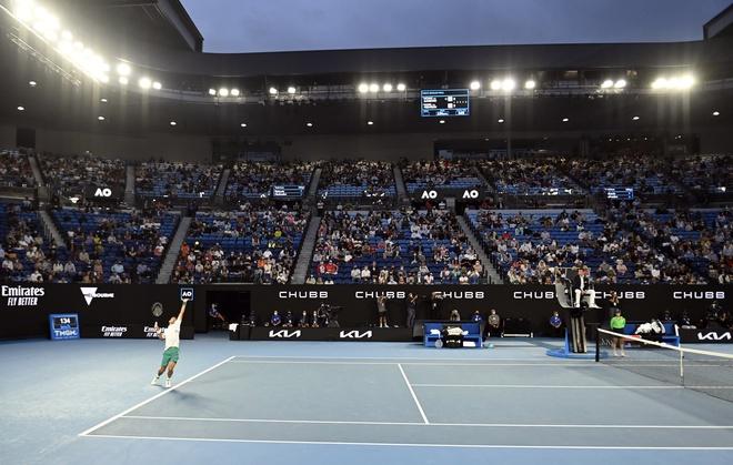 Djokovic vs Medvedev anh 1