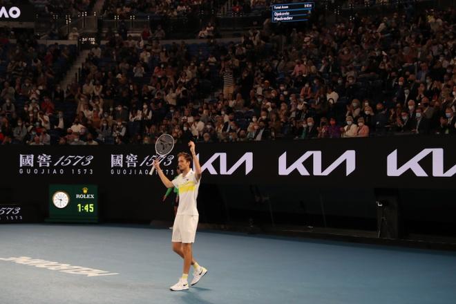 Djokovic vs Medvedev anh 46
