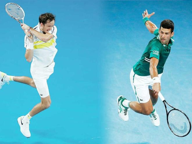 Djokovic vs Medvedev anh 18