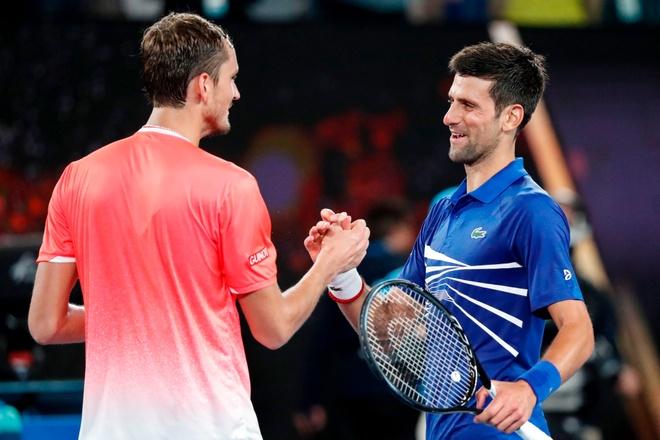 Djokovic vs Medvedev anh 25