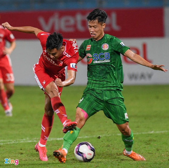 CLB Viettel vs CLB Sai Gon anh 3