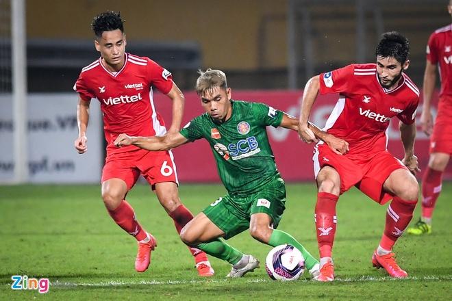 CLB Viettel vs CLB Sai Gon anh 5
