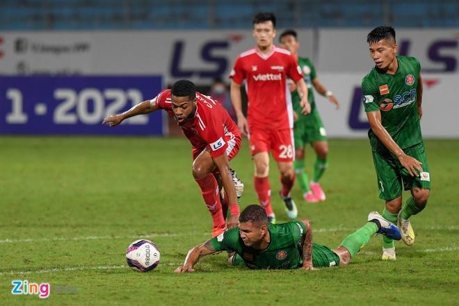 CLB Viettel vs CLB Sai Gon anh 4