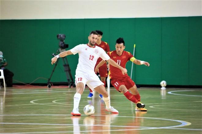 Futsal Viet Nam vs Lebanon anh 8