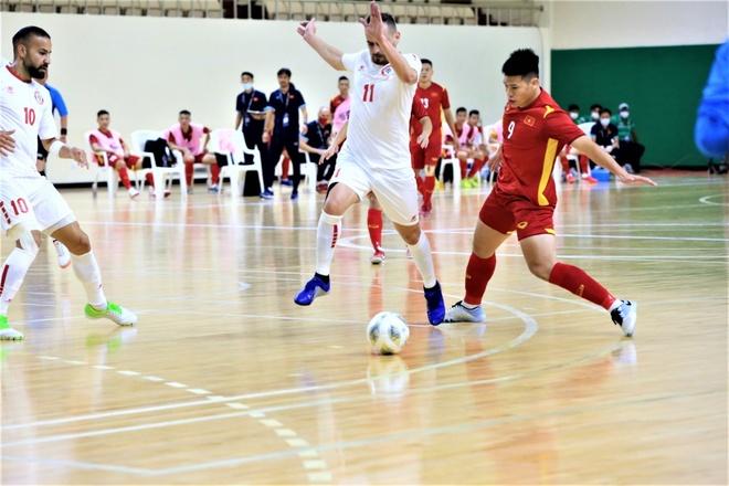Futsal Viet Nam vs Lebanon anh 2