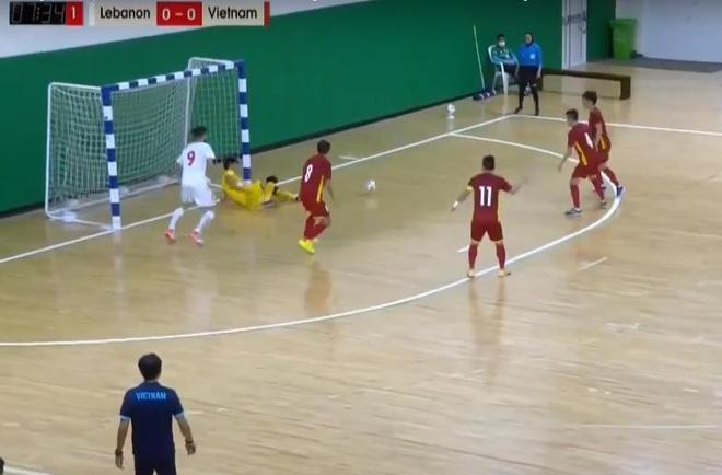 Futsal Viet Nam vs Lebanon anh 3