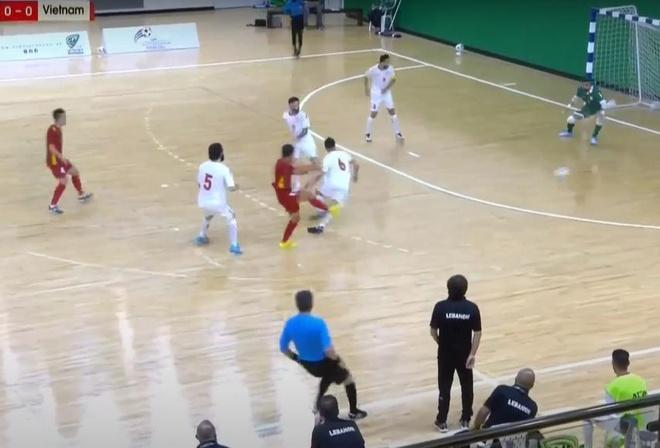 Futsal Viet Nam vs Lebanon anh 4