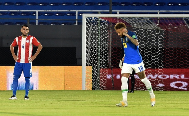 Paraguay vs Brazil anh 10