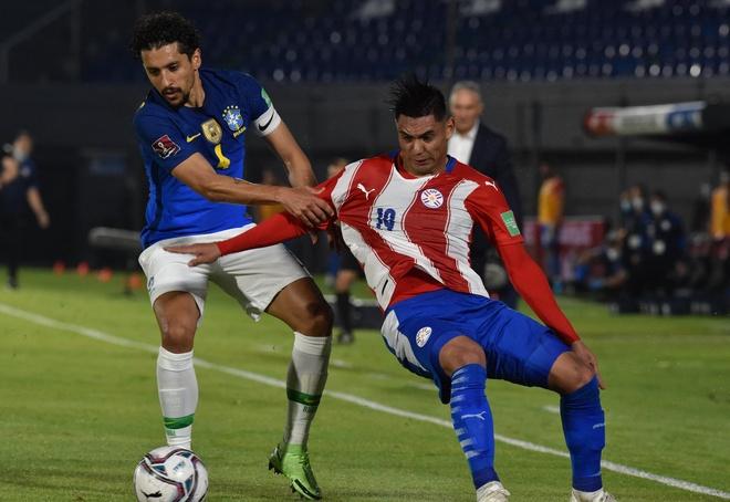 Paraguay vs Brazil anh 19