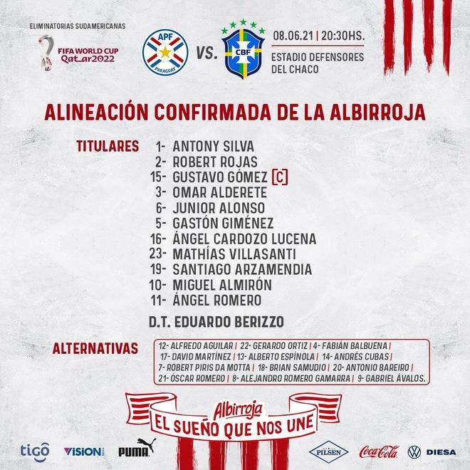 Paraguay vs Brazil anh 5