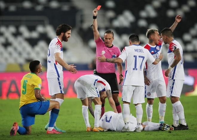 Brazil vs Chile anh 17