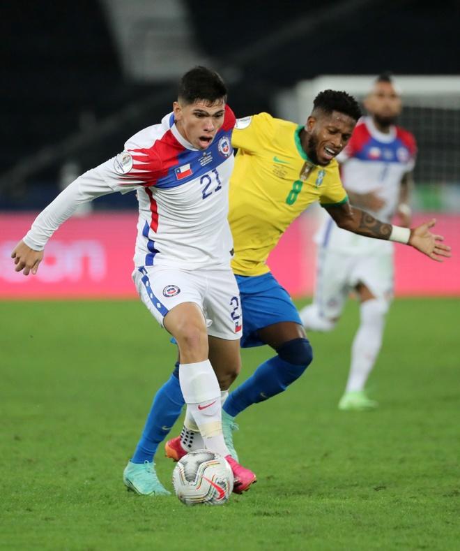 Brazil vs Chile anh 19
