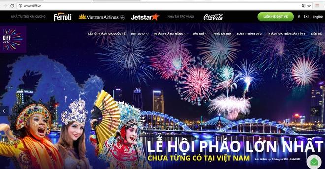 Chan trang web gia mao Ban to chuc le hoi phao hoa quoc te Da Nang hinh anh 2