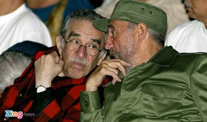 Moi quan he dac biet cua Fidel voi cac dai van hao hinh anh 1