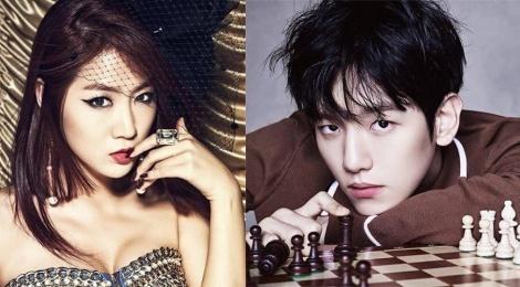 EXO Baekhyun va Sistar Soyou song ca trong mua Valentine hinh anh