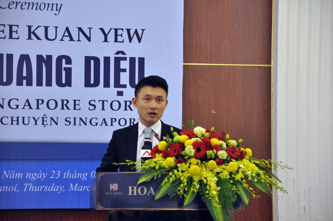 Ly Quang Dieu: Nguoi dua Singapore hoa rong hinh anh