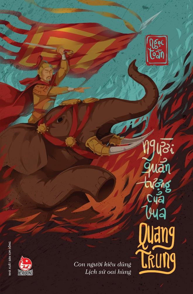 tac pham van hoc lich su cho thieu nhi Nguoi quan tuong cua vua Quang Trung anh 1