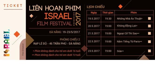 Lien hoan phim Israel lan dau to chuc tai Da Nang hinh anh 2