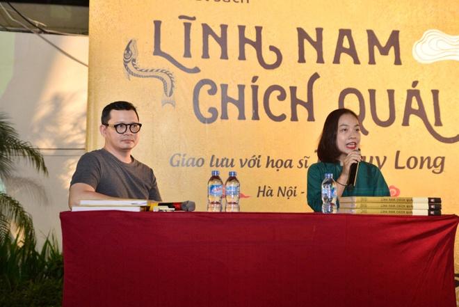 Hoa si ve minh hoa 'Linh Nam chich quai' va cai nhin ve lich su hinh anh 2