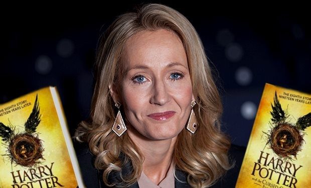 Tac gia J.K Rowling tiet lo Harry Potter thu hai hinh anh