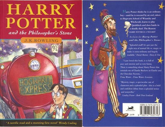 10 su that thu vi dang sau cuon sach 'Harry Potter va Hon da phu thuy' hinh anh 1