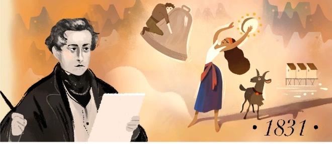 Cong cu Google Search ton vinh Victor Hugo trong ngay 30/6 hinh anh 2