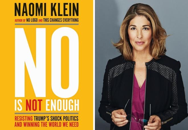 Naomi Klein viet sach chong Donald Trump anh 1
